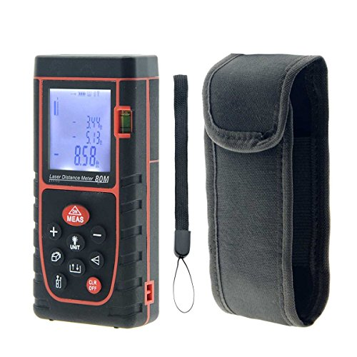 YXQ 80M Digital Laser Distance Meter Handheld Rangefinder with High Precision Infrared Measuring Instrument Electronic by YXQ