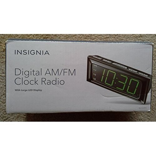 Insignia™ - Digital Am/fm Dual-alarm Clock - Black
