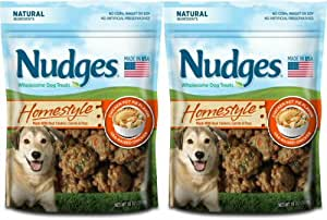 Amazon.com : Nudges Homestyle Natural Dog Treats made with