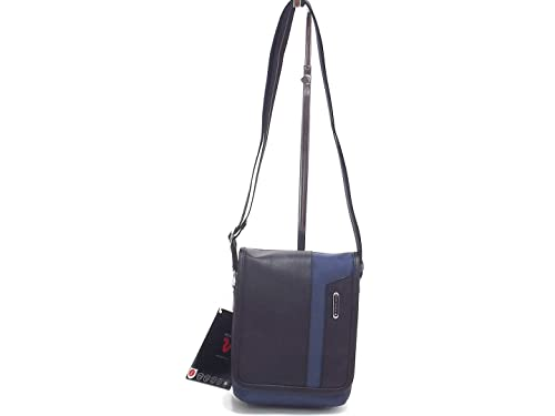 fdf6b21cc5 Roncato borsa uomo, Panama 400861, bandoliera in ecopelle e nylon denim  nero: Amazon.it: Scarpe e borse