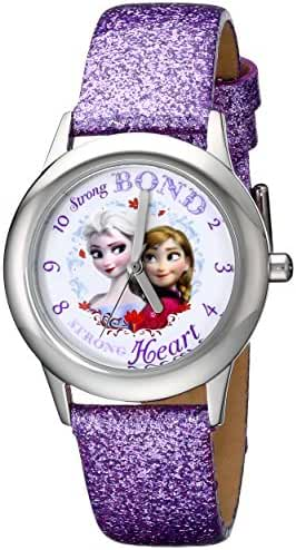 Disney Kids' W000972 Frozen Tween Watch with Purple Sparkle Band