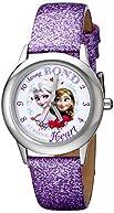 Disney Kids' W000972 Frozen Tween Watch with Purple Sparkle Band