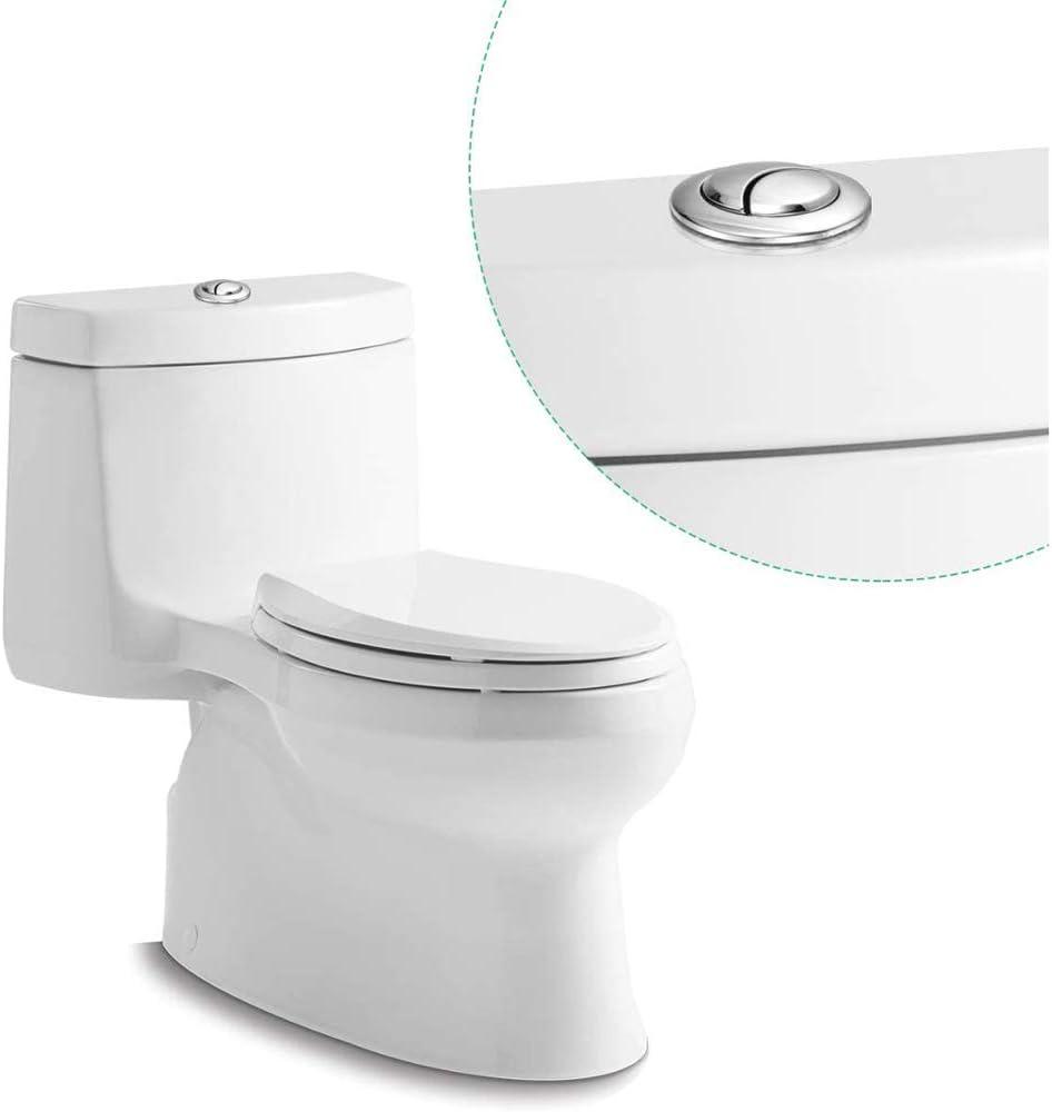 Lot de 3 boutons de toilettes /à double chasse deau pour toilettes Pour r/éservoir deau