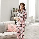 HeroStore Women's Pajamas Spring Autumn Long Sleeve Ladies Sleepwear Cotton Pyjamas Women Nightwear Set Pijamas Mujer Home Clothes