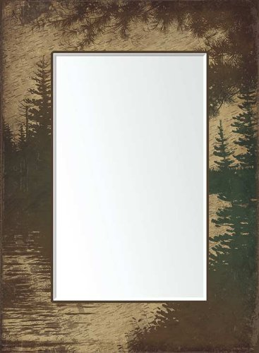 Back Country Scenic Mirror by Michael Sieve