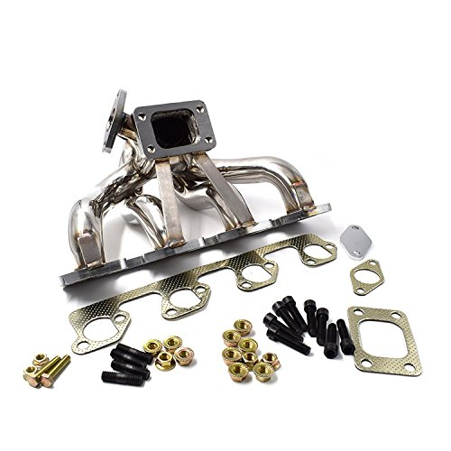 Turbo Manifold T3 Center Mount for 2.3L Ford Mustang SVO Thunderbird Turbo Coupe - Coupe Ford Turbo