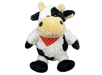 TE-Trend 18746 – Vaca de peluche ternero Peluche con Nicki (30 cm)