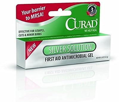 Curad Silver Solution Antimicrobial Gel 0.50 oz
