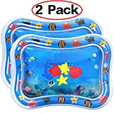 Dreampark 2 PCS Inflatable Tummy Time Premium Water Mat for Infants & Toddlers, Activity Center Your Baby's Stimulation Growth Baby Toys 3 to 12 Months 26