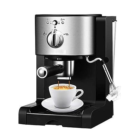 RUIXFCA Cafetera Espresso, capuccinatore, Depósito de 1,5l ...