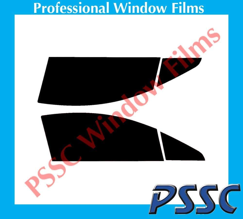PSSC Pre Cut Front Car Window Films for Peugeot 407 Coupe 2006 to 2010 05/% Very Dark Limo Tint