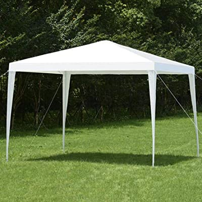 GYMAX Outdoor Heavy Duty 10 x 10 Canopy Party Wedding Tent Gazebo Pavilion Cater : Industrial & Scientific
