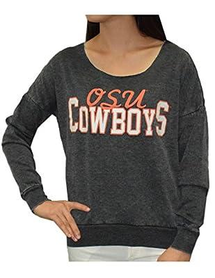 OKLAHOMA STATE COWBOYS Womens NCAA Athletic Thermal Sweatshirt