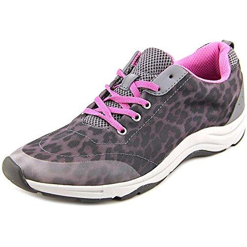 Vionic Womens Action Tourney Womens Active Lace Up Grey Leopard Size 11