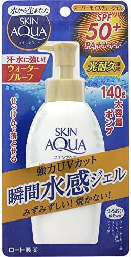 Skin Aqua Super Moisture Gel pump (SPF50 + PA ++++) 140g