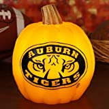 NCAA Auburn Tigers Wax Pumpkin Luminary