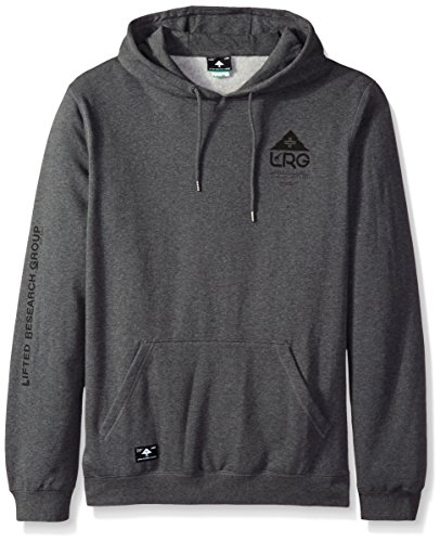 (LRG Men's Big-Tall One Icon Pullover Hoody, Charcoal Heather, 3XL)