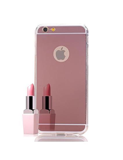 cover iphone specchio rosa