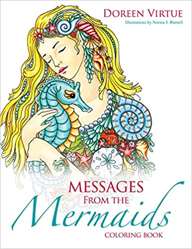 Amazon.com: Messages from the Mermaids Coloring Book ...
