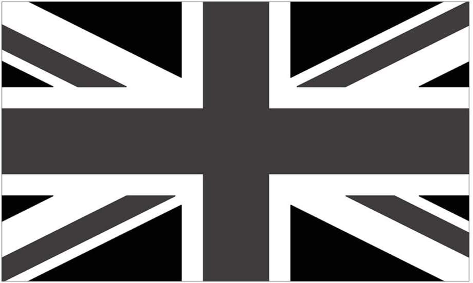 Black And White Sticker rect. Sticker CafePress Union Jack