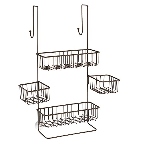 InterDesign Metalo Adjustable Shower Caddy product image