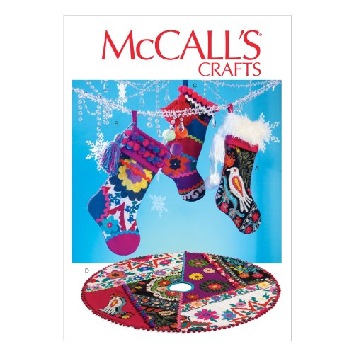 McCall Pattern Company Stockings Template