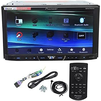 pioneer avh x4600bt 7 double din car stereo receiver bluetooth siri eyes free. Black Bedroom Furniture Sets. Home Design Ideas