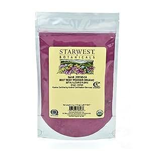 Organic Beet Root Powder - 4 Oz (113 G) - Starwest Botanicals