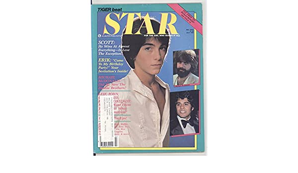 Tiger Beat Star Magazine July 1980 Scott Baio on Cover