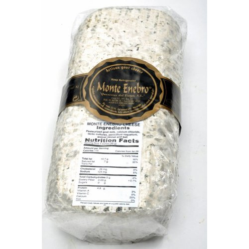 Montenebro Goat Cheese (Whole Log) Approximately 3 Lbs by Gourmet555