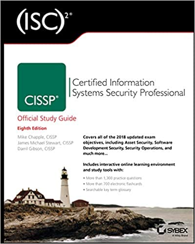 (ISC)2 CISSP Certified Information Systems Security Professional Official Study Guide 8th Edition