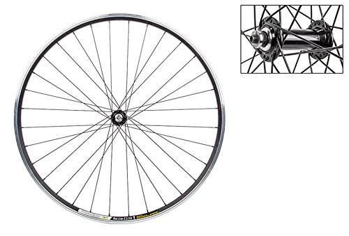 WheelMaster Front Bicycle Wheel, 700 WTB FREEDOM RACINE ELITE BK MSW 32 WM ALY QR BK 100mm DTI2.0BK by WheelMaster