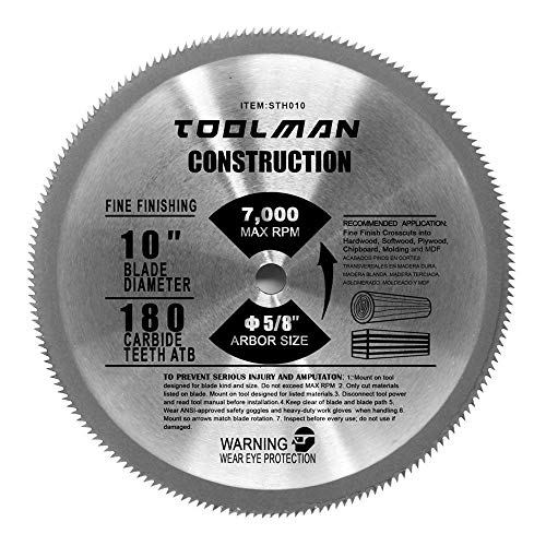 Toolman Circular Saw Blade Universal Fit 10