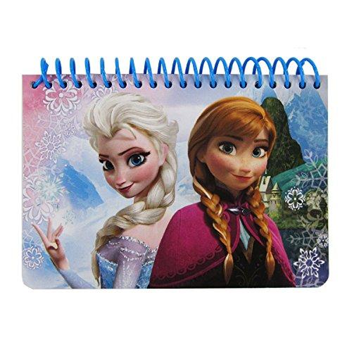 Mirage Officially Licensed Disney Pixar Frozen Memo Pad - Elsa and Anna