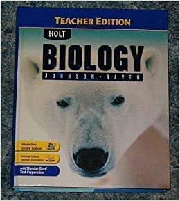 Raven Johnson Biology Book