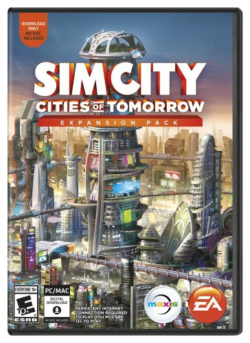 SimCity Cities of Tomorrow (Best Space Sim Games)