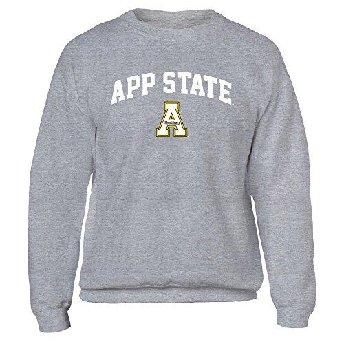 Appalachian State Mountaineers - Gildan Fleece Crew - Officially Licensed Fashion Sports (Appalachian State Fleece)