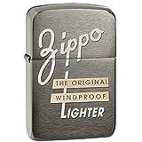 Zippo 1941 Replica  Black Ice Pocket Lighter