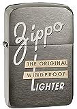 zippo old - Zippo 1941 Replica  Black Ice Pocket Lighter