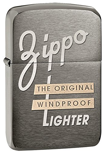 Zippo 1941 Replica Black Ice Pocket Lighter