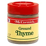 McCormick Ground Thyme (524241) 0.7 oz