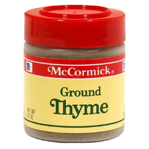 McCormick Ground Thyme (524241) 0.7 oz by McCormick