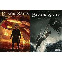 Black Sails Complete Season 2 & Black Sails Complete Season 3 DVD Bundle Series 2 Pack