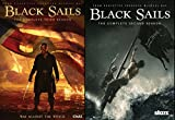 Black Sails Complete Season 2 & Black Sails Complete Season 3 DVD Bundle Series 2 Pack
