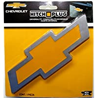 Enganche de enganche de aluminio cepillado estilo Plasticy Chevy Bowtie Style