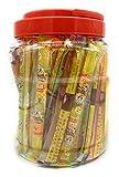 Jin Jin Fruit Jelly Filled Strip Straws Candy