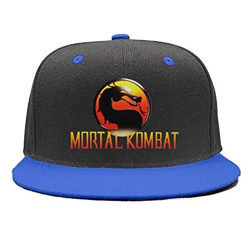 Unisex Sandwich Baseball Cap Mortal-Kombat-Logo- Trucker