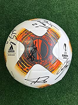 Balón Europe League autografiado, A.C.Milan, temporada 2017/2018 ...