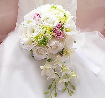 Europa Elegant Hubsch Exquisit Charmant Braut Blumen Strauss