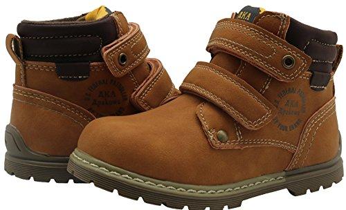 Apakowa Toddler Boy's Cowboy Martin Boots